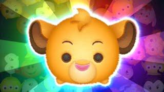「ツムツム x Tsum Tsum」賺取2000+coins!!! 辛巴 シンバ Simba~ Lion King Collection