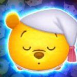 「ツムツム x Tsum Tsum」沒有使用任何技能賺取2000+coins~ おやすみプー  Winnie the Pooh Good Night Pooh 晚安維尼