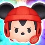 「ツムツム x Tsum Tsum」沒有使用任何技能達到1000萬分及賺取4000 coins~ ラグビーミッキー(チャーム) 米奇 Sport Mickey
