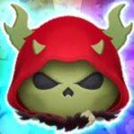 「ツムツム x Tsum Tsum」使用5變4技能達到1200萬分~ ホーンド・キング Horned King 長角國王 高分Tsum Tsum