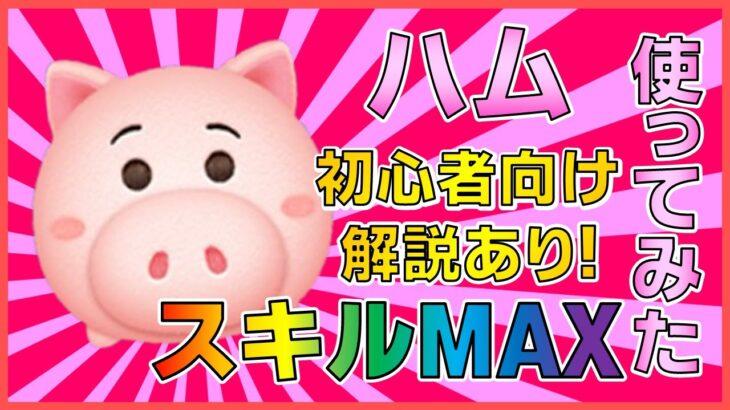 【ツムツム】ハム スキル6 プレイ動画【解説】