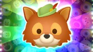 「ツムツム x Tsum Tsum」 使用5變4技能達到1000萬分~~~ ロビン・フッド 羅賓漢 Robin Hood