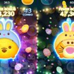 「ツムツム x Tsum Tsum」兔子維尼 ウサプー Bunny Pooh VS  兔子跳跳虎 ウサティガー Bunny Tiger