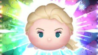 「ツムツム x Tsum Tsum」登場了~アドベンチャーエルサ Travel Elsa 旅遊艾莎 只使用5變4技能達到1000萬分