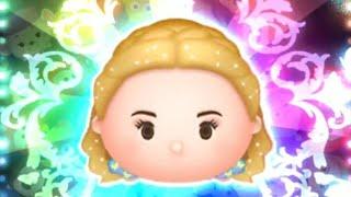 「ツムツム x Tsum Tsum」使用5變4技能達到1000萬分~~ エンチャンテッドシンデレラ 魔法仙度瑞拉 Enchanted Cinderella
