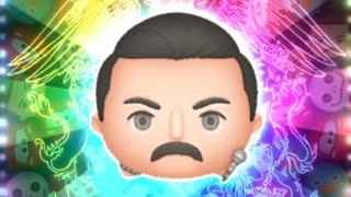 「ツムツム x Tsum Tsum」只使用5變4技能達到1000萬分以上~ フレディ・マーキュリー  Freddie Mercury Queen