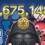 【ツムツム】侍大将ダースベイダー 1フィーバー 460万