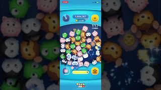 【ツムツム】ツムツム初心者によるハム スキル2 プレイ 約2400枚!!