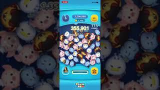 【ツムツム】ツムツム初心者によるコブラジャファー スキル3 プレイ 約2300枚!!