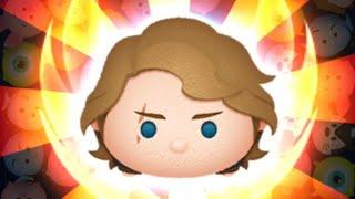 「ツムツム x Tsum Tsum 」 只使用5變4技能達到1000萬分~~ 安納金天行者 Anakin Skywalker