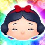 「ツムツム x Tsum Tsum 」 使用5變4技能達到1000萬分~~~~ ハッピー白雪姫 Happy Snow White 快樂白雪公主