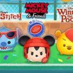 「ツムツム x Tsum Tsum」 Rugby Mickey 橄欖球米奇 VS Baseball Pooh 棒球維尼 VS Surfing Stitch 衝浪史迪奇