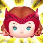 「ツムツム x Tsum Tsum」高分Tsum Tsum~~Marvel~~~使用5變4技能達到1000萬分 汪達·馬克希莫夫 ワンダ・マキシモフ Wanda Maximoff