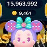 【ツムツム】スモールワールドミニー 9000枚 スキル6