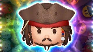 「ツムツム x Tsum Tsum」沒有使用任何技能賺取2000coins! Jack Sparrow ジャク・スパロウ 史傑克